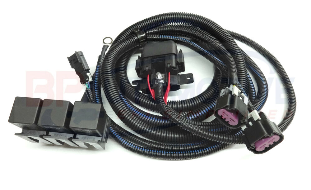 Chevy Silverado Tahoe Gmc Sierra Yukon Two Speed Electric Fan Rhmebay: Chevy Tahoe Electric Fan Harness At Elf-jo.com
