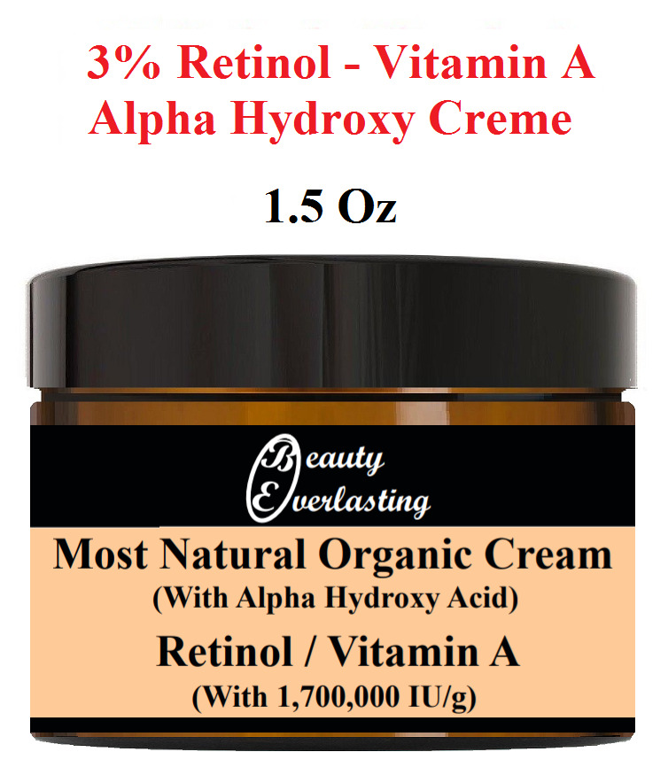 1.5 Oz Most Potent 3% Retinol & Alpha Hydroxy Crème