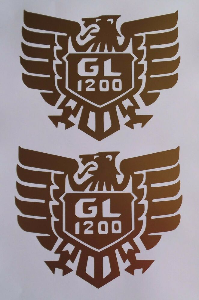 2 x Honda Goldwing GL 1200 decals/stickers | eBay