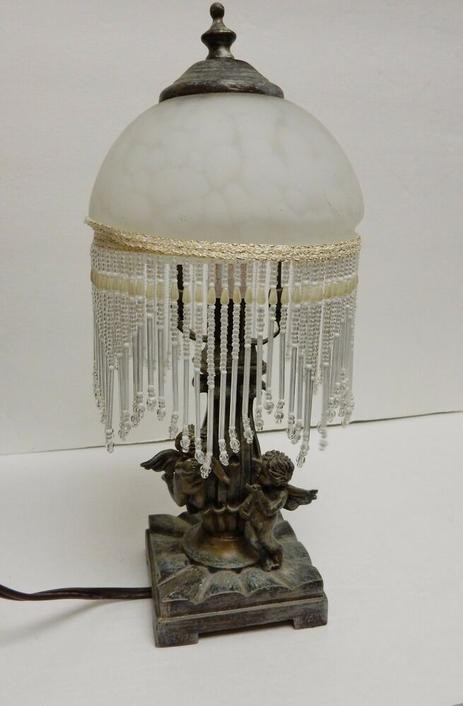 Luxury Scroll Artifact Table Lamp  Shabby Chic Style