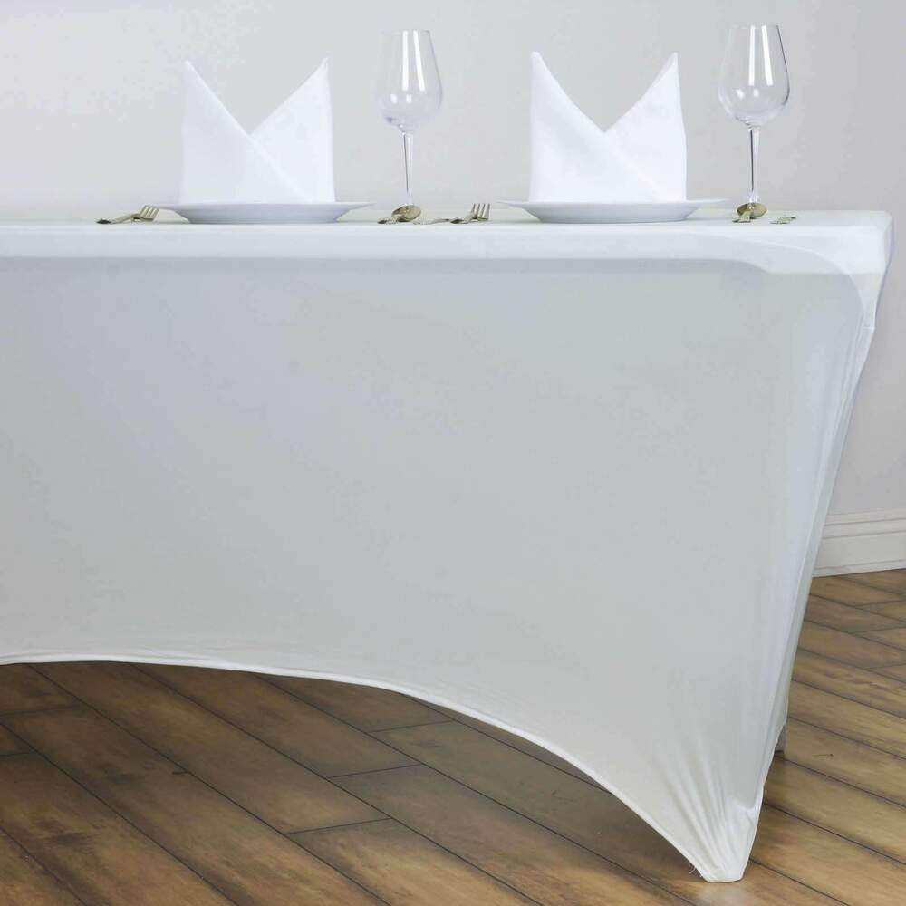 Rectangular Spandex Table Cover Choose Your Color Amp Size