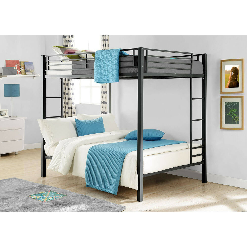 Bunk Beds On Sale Kids Full Size Over Double Bedroom Loft Furniture Space Saver Ebay