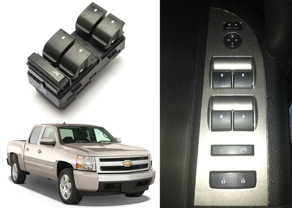 Replacement drivers side window switch for 2007 2013 for 2001 silverado window motor replacement