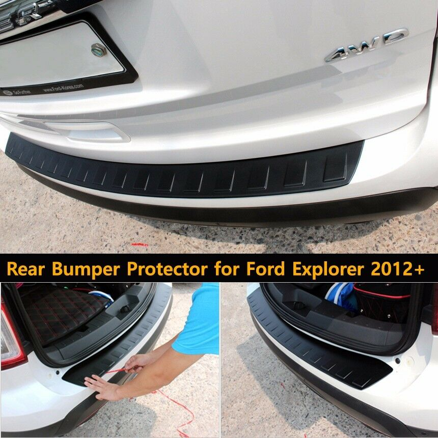 Trunk Line Rear Bumper Protector For Ford Explorer 2012
