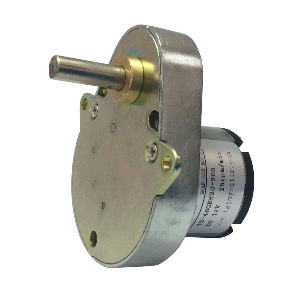 Dc 12v 25rpm Miniature Pear Shaped Drive Gear Motor