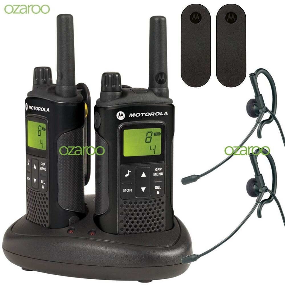 motorola xt180 2 way walkie talkie business radio pmr446. Black Bedroom Furniture Sets. Home Design Ideas