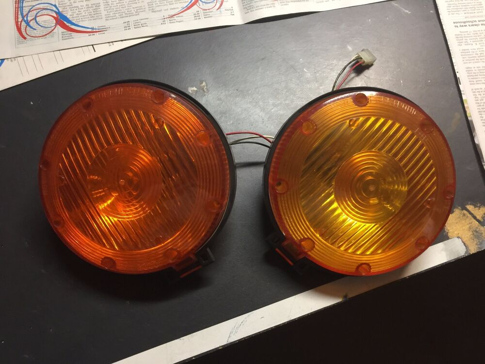Tractor Utility Lights : Misc tractor utility flasher turn signal lights ebay