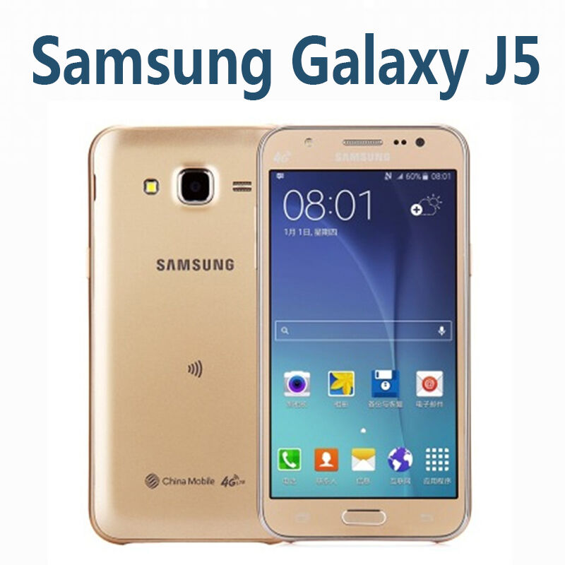 original samsung galaxy j5 unlocked 8gb rom 13mp dual sim smartphone ebay. Black Bedroom Furniture Sets. Home Design Ideas