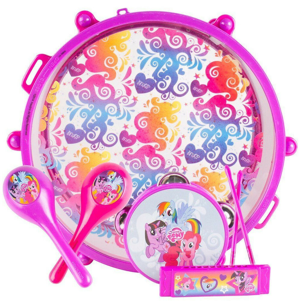 Kids MY LITTLE PONY Music BAND SET Drum Carry Case ...