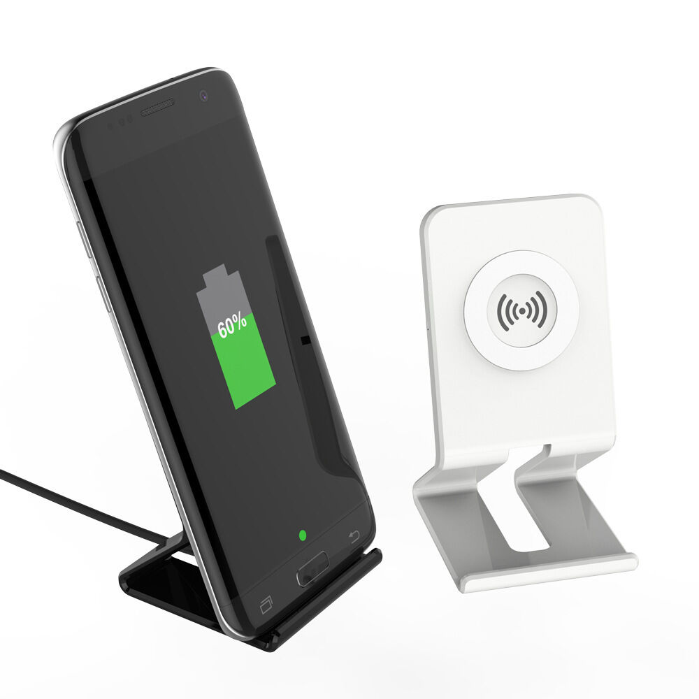 qi wireless charging pad charger stand holder for samsung. Black Bedroom Furniture Sets. Home Design Ideas