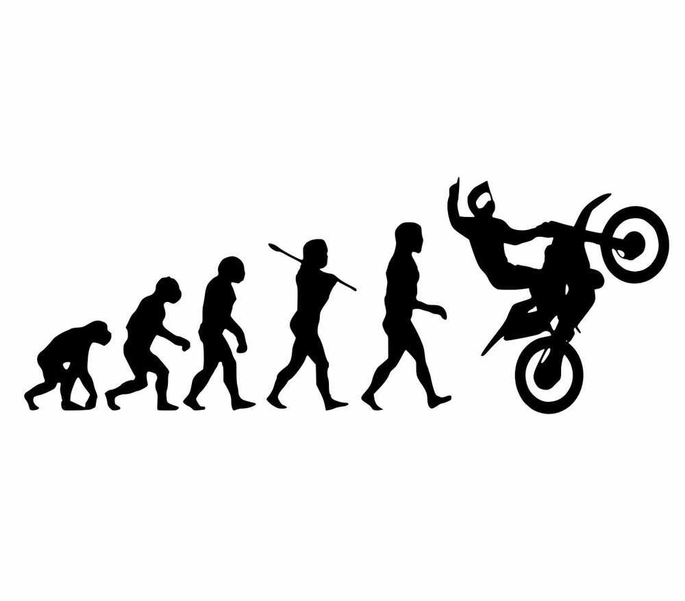 dirtbike evolution sticker dirt bike mx fmx motocross