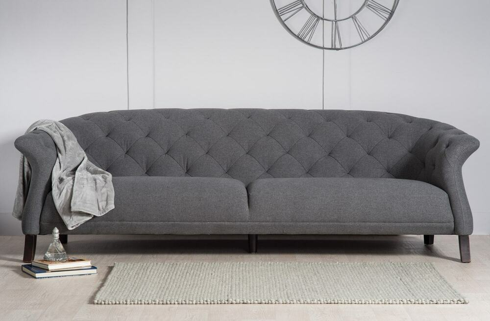 Designer Modern Contemporary Casper Chesterfield Sofa Set