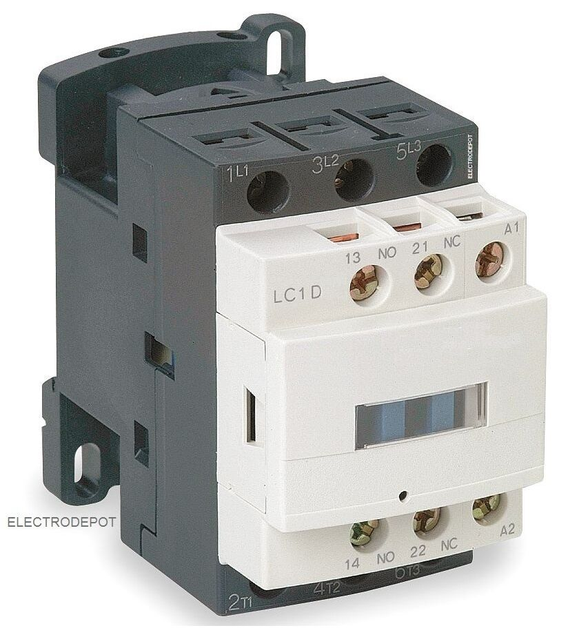 30 Amp CONTACTOR 3 Pole 120V Motor 30A, 32A Lighting