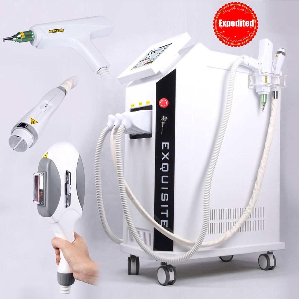 3in1 E- light IPL Hair Removal Yag Laser Tattoo Removal ...