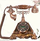 #14 European Resin Vintage Home Decor Collectables Gifts Corded Telephone