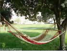Leisure Portable Safe Cotton Rope W100cm*L200cm Outdoor 2*People Hammock