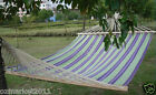Leisure Canvas Wooden Pole L200cm*W150cm 2*People Outdoor Camping Hammock