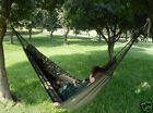Portable Army Green L200cm*W150cm Outdoor 2 People Camping Folding Hammock