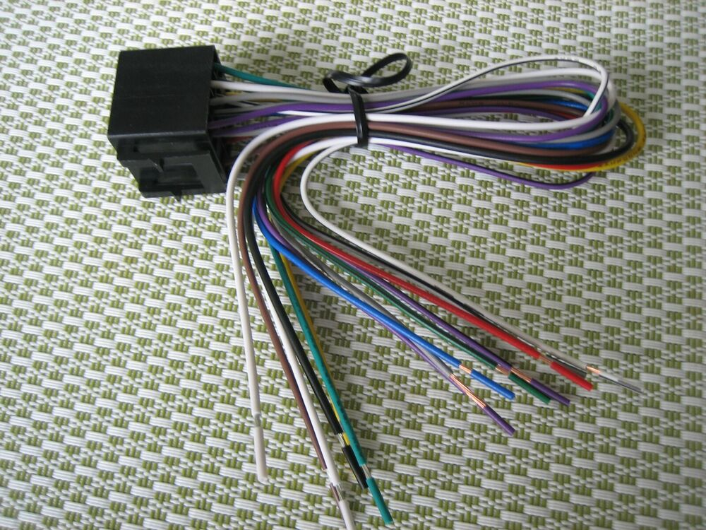 Power Acoustik Power  U0026 Speaker Harness Pdn