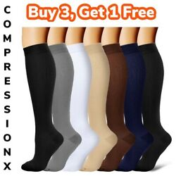 Kyпить Compression X (S-3XL) Socks Pain Relief Calf Leg Foot Support Stocking Men&Women на еВаy.соm