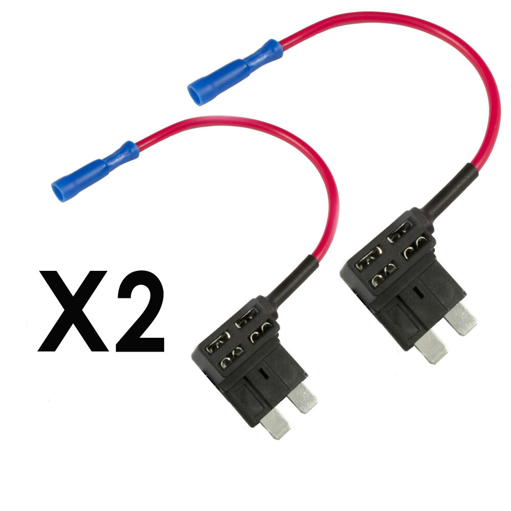 2x Standard Add A Circuit Fuse Box Holders Piggy Back Adaptor Car How To New Ato Atc Acu Uk Ebay