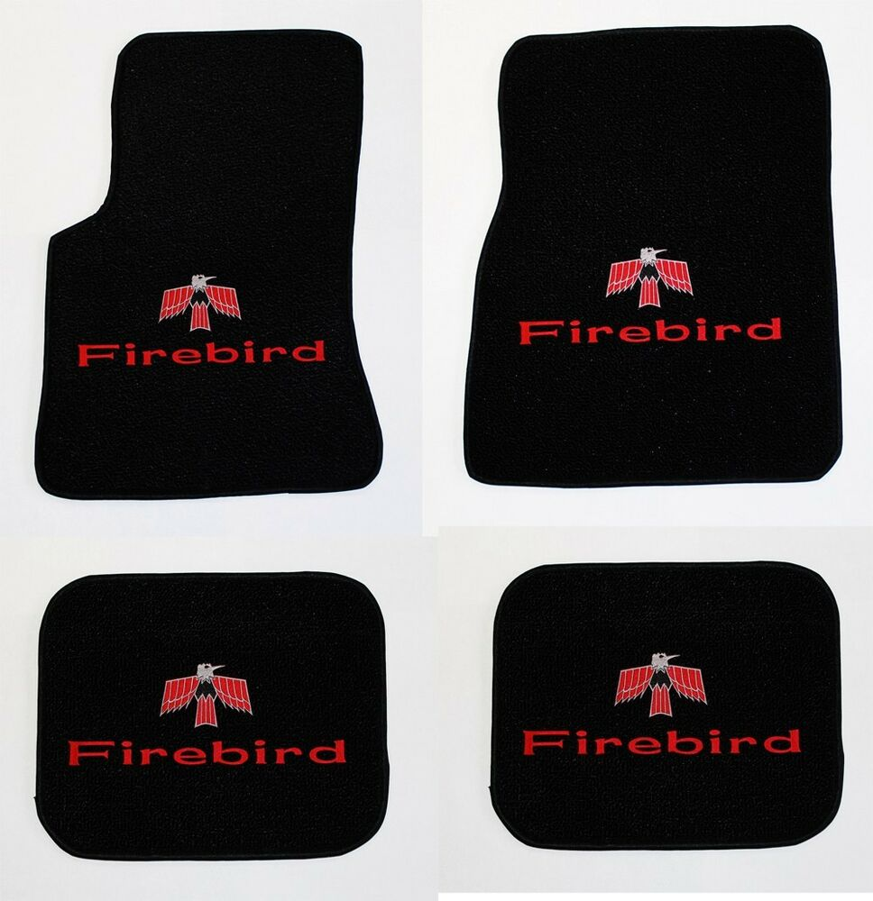 New 1967 1969 Pontiac Firebird Floor Mats Black Carpet