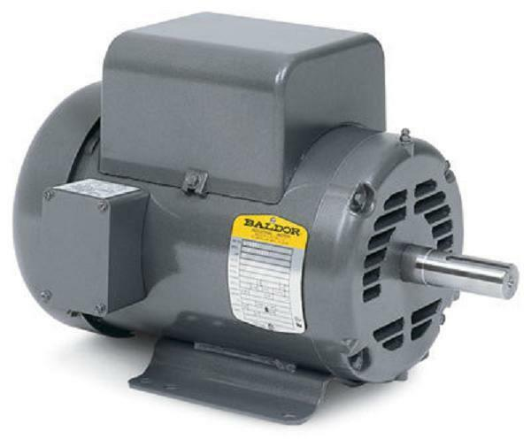 5 hp 1725 rpm new baldor air compressor electric motor fr for 5hp air compressor motor single phase