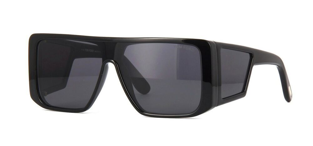 715e6af459 Tom Ford ATTICUS FT 0710 Black Smoke (01A) Sunglasses 889214029645 ...