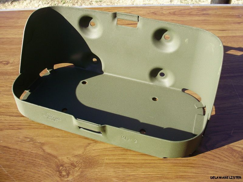 JEEP MILITARY TRUCK JERRY GAS CAN MOUNT BRACKET HOLDER NOS ...