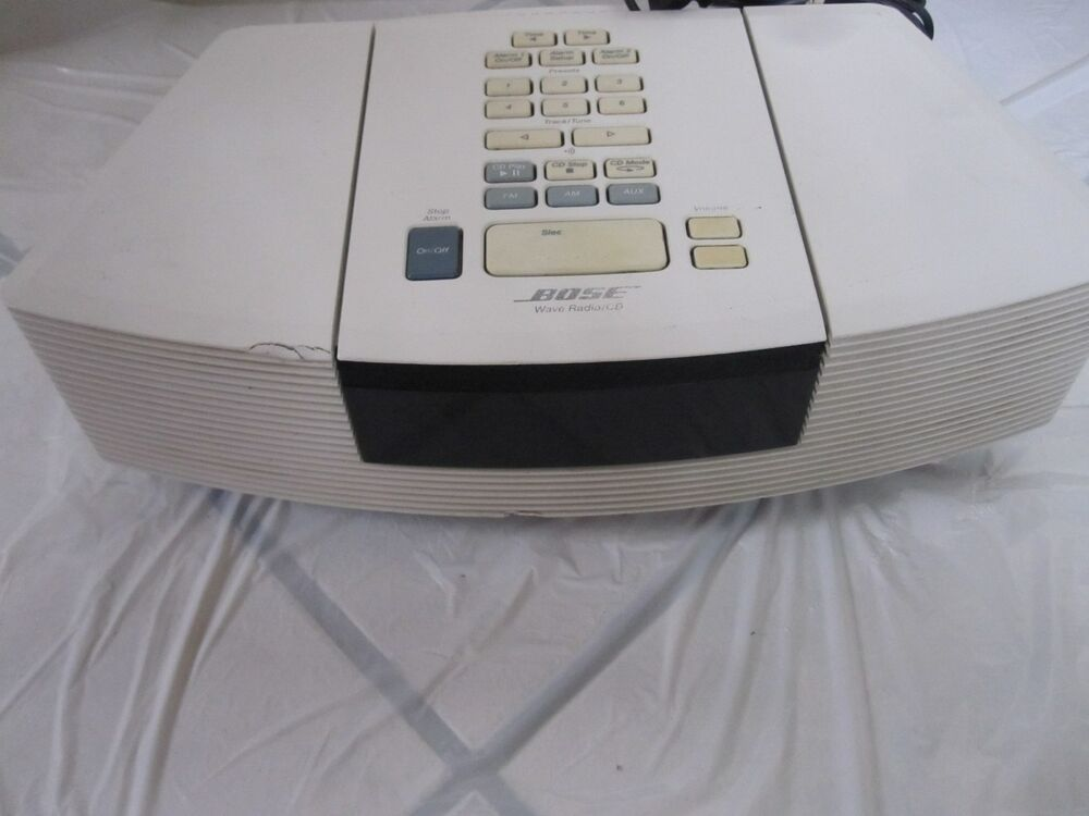 bose wave radio cd awrc 1p for parts only ebay. Black Bedroom Furniture Sets. Home Design Ideas