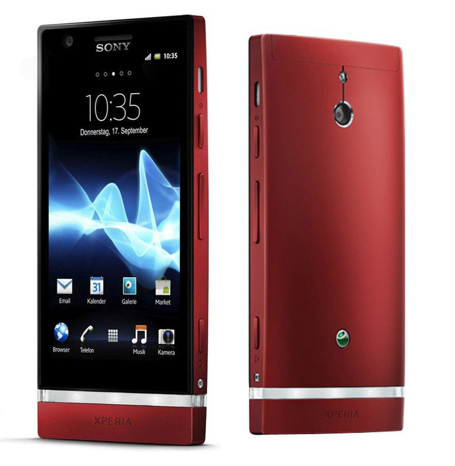 4 sony ericsson xperia p lt22i android 8mp unlocked smartphone 16gb red ebay. Black Bedroom Furniture Sets. Home Design Ideas