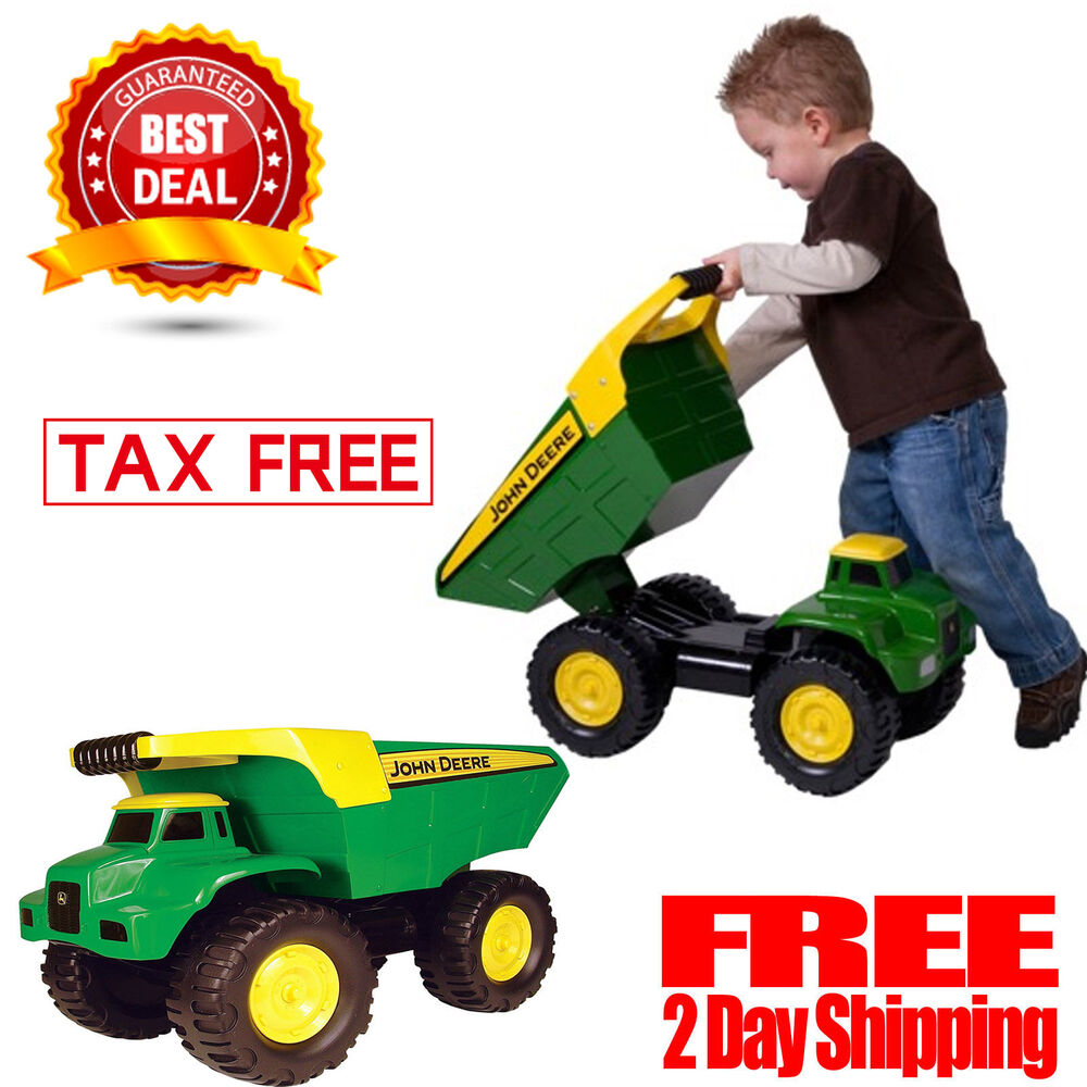 Toys For Big : Dump truck playing kids large toy big scoop toddler fun
