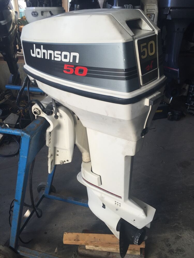 1992 johnson evinrude 50 hp carbureted 20 outboard boat