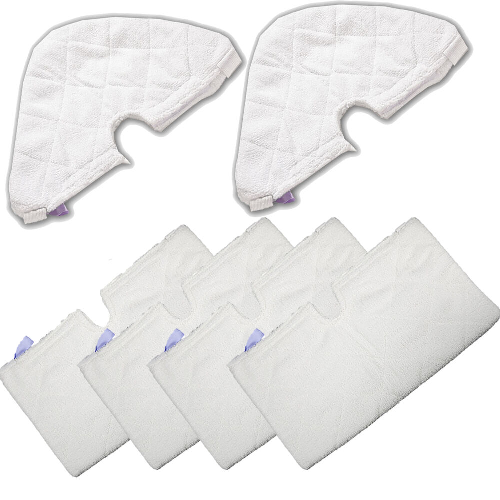 6 Refill Steam Mop Replacement Pocket Pads For Shark S3501
