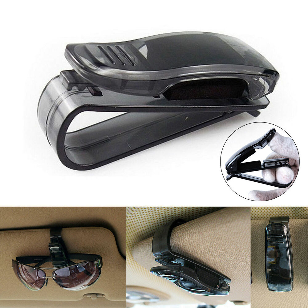 Universal Car Auto Sun Visor Glasses Sunglasses Card