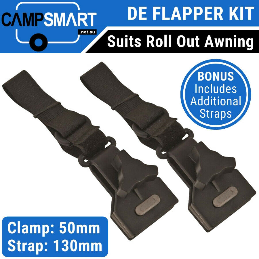 Caravan Awning Deflapper Anti Flap Kit Pair Of Deflappers
