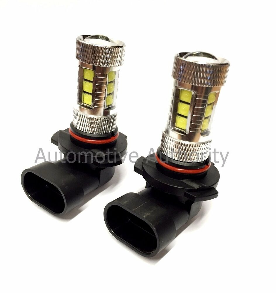 Fits Can Am 80w Led Super White Headlight Bulbs Lamps Cree