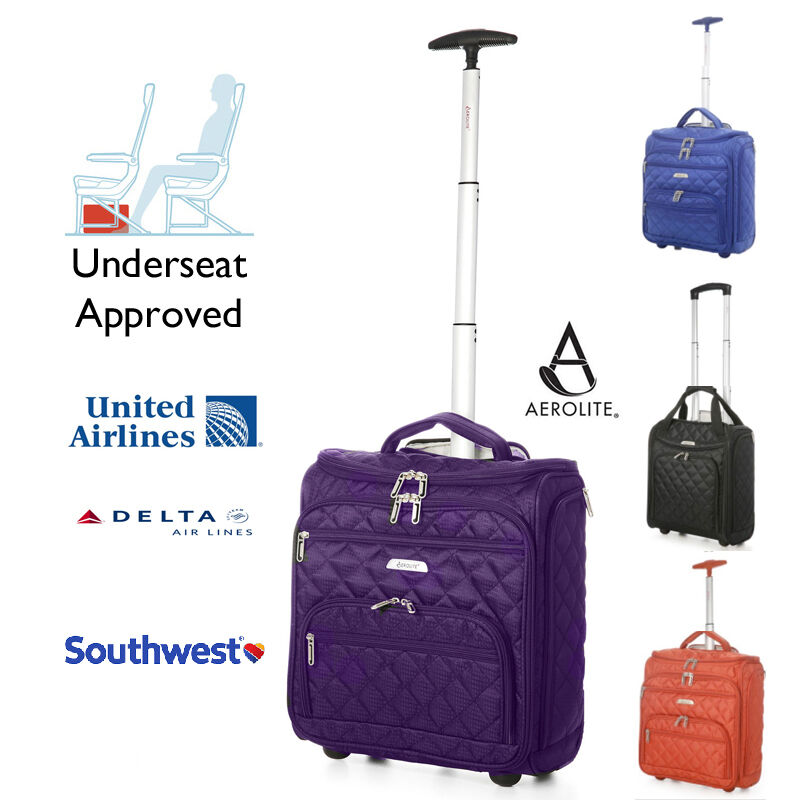 Under Seat Travel Bag With Wheeled