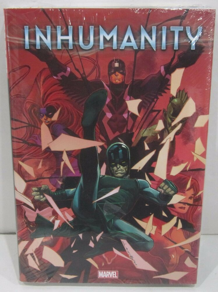 Hardcover Book Graphics : Inhumanity hardcover marvel graphic novel comic book ebay