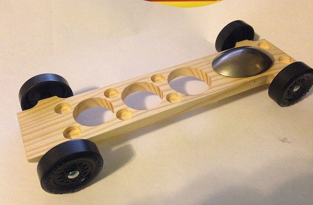 Winning rail riding rider pinewood derby canopy car 5 for Fastest pinewood derby car templates