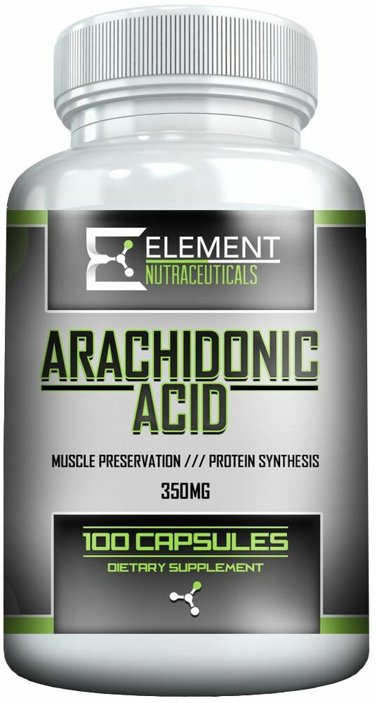 Details about   ARACHIDONIC ACID 350mg x 100ct by ELEMENT NUTRACEUTICALS