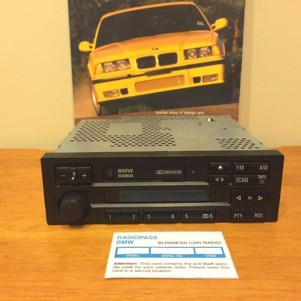 Bmw C43 Business Radio Stereo E31 E34 E36 318 323 325 328