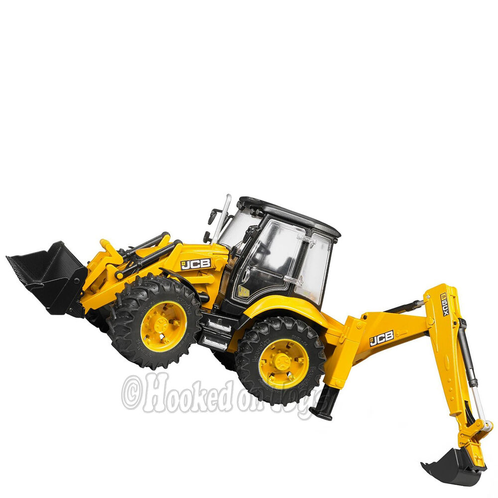 Bruder Construction Toys : Bruder jcb cx eco backhoe loader toy farm construction