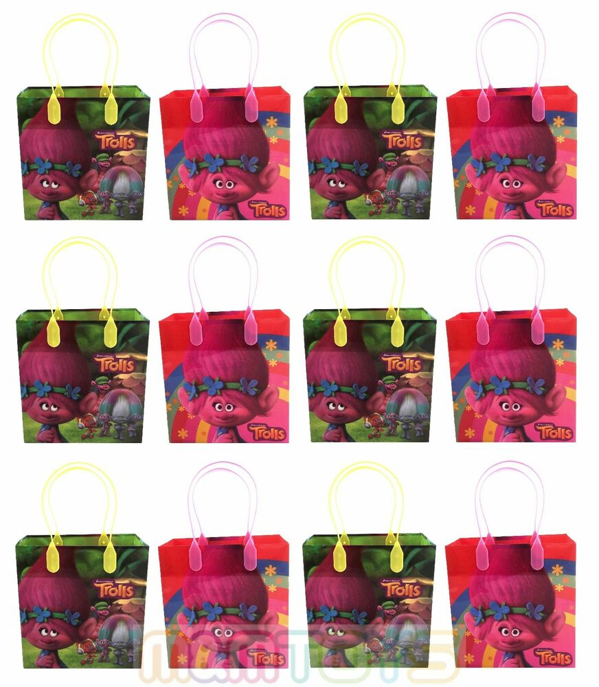 DreamWorks Trolls Birthday Party Favors Goody Loot Gift