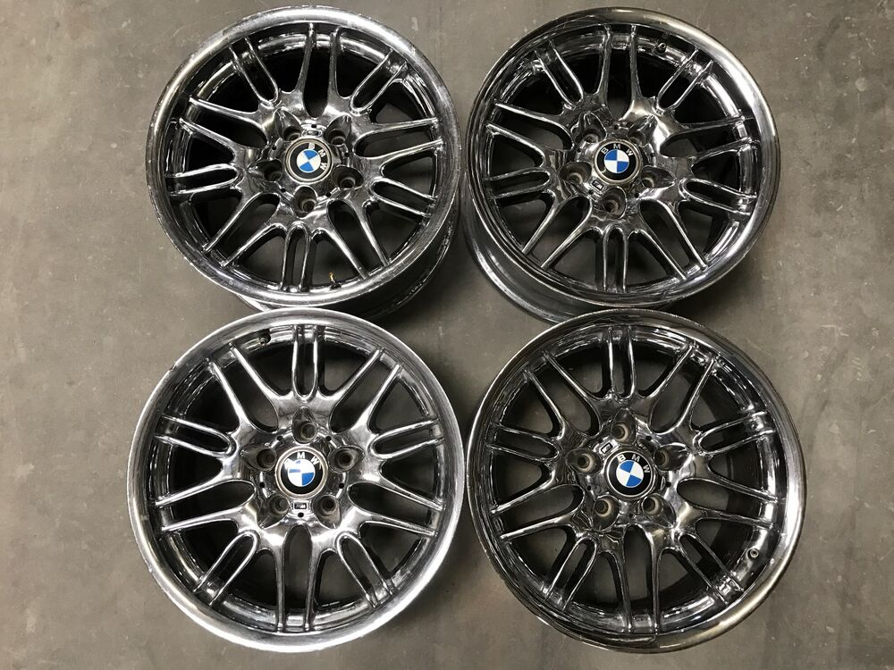 17 Inch Bmw Chrome Wheels Pickup Only Ebay