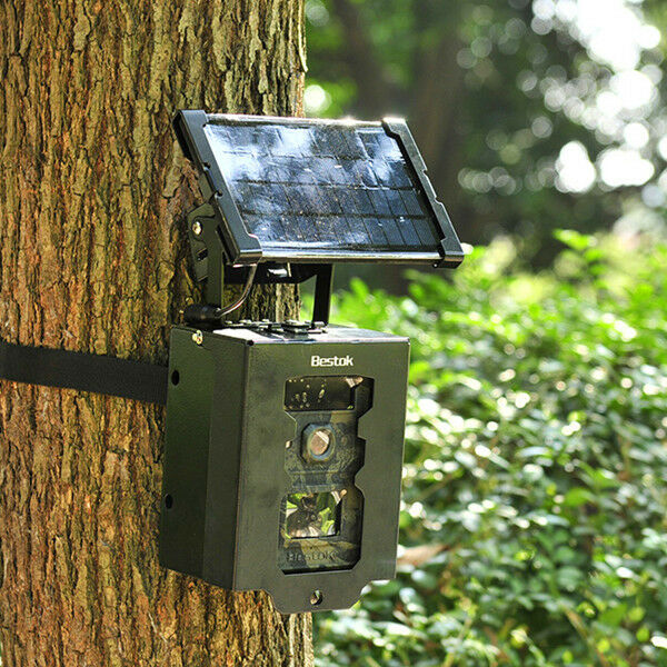 Hunting Trail Game Camera 1500mah Rechargeable Solar Panel