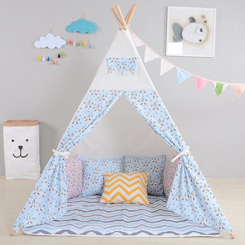 children u2019s teepee tents  kids premium tipi wigwam play house by integrity co