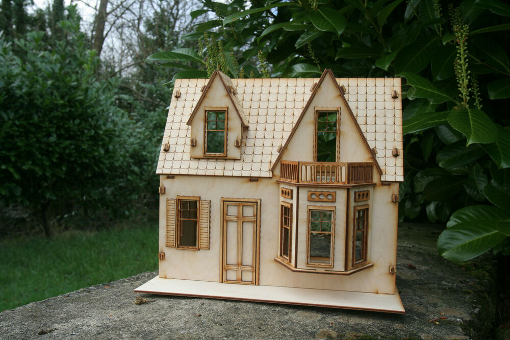 Laser Cut Ply Wood Wooden Dolls House Shirley Temple Kit