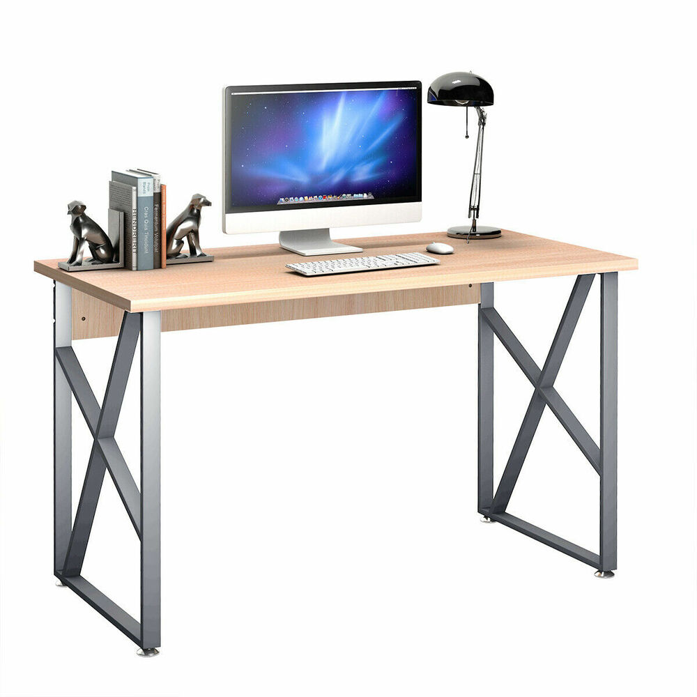 Computer desk pc laptop table writing study workstation - Computer and study table designs for home ...