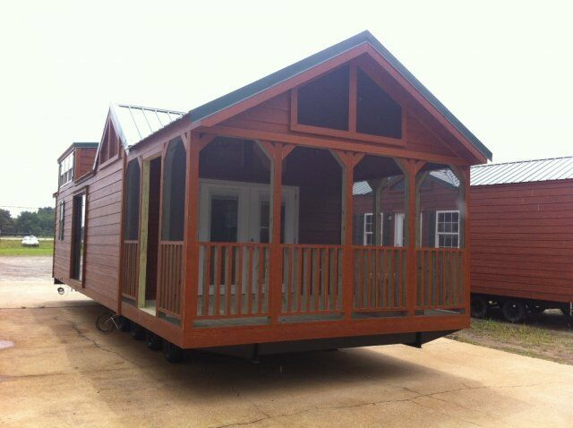 2017 national classic 12x34 rustic cabin tiny mobile home for One room cabins for sale